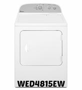 Whirlpool 7.0 cu. ft Dryer with Heavy Duty Cycle WED4815EW