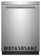 Whirlpool 47 dBA Fully Integrated Dishwasher with 5 Wash Cycles, 15 Place Settings, Soil Sensor, Energy Star Certified, Heated Dry Option in Fingerprint Resistant Stainless Steel WDTA50SAHZ