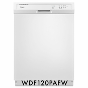 Whirlpool 63 dBA Dishwasher With The 1-Hour Wash Cycle - WDF120PAFW