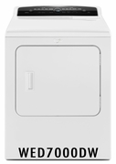 Whirlpool 7.0 cu. ft. Cabrio� High-Efficiency Dryer with AccuDry� Sensor, Sanitize Cycle WED7000DW