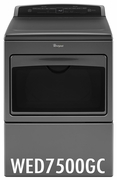 Whirlpool 7.4 Cu. Ft. Large Capacity Electric Dryer with AccuDry and Sanitize Cycle WED7500GC
