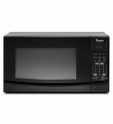 Whirlpool Countertop Microwave Black with Electronic Touch Controls WMC10007AB 0.7 cu. ft.