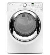 Whirlpool Duet 7.4 cu.ft. Steam Dryer WED87HEDW ENERGY STAR