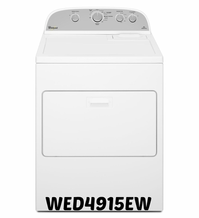 Whirlpool Electric Dryer 7.0 cu ft. Model #WED4915EW