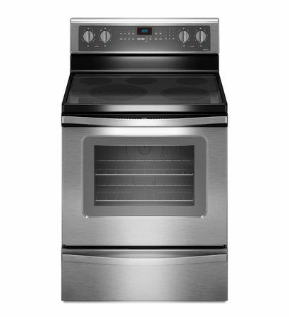 Whirlpool 5.3 Cu. Ft. True Convection Range with FlexHeat Triple Radiant Element WFE905C0ES
