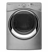 Whirlpool Duet 7.3 cu. ft. Diamond Steel Steam Dryer ENERGY STAR WED97HEDU