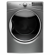 Whirlpool 7.4 cu. ft. Steam in Chrome Gray Dryer WED90HEFC