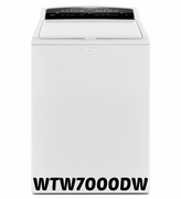 Whirlpool  High-Efficiency Top Load Washer with Industry-Exclusive ColorLast Option WTW7000DW 4.8 cu ft Cabrio