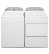 Whirlpool Pair Combo 3.7 Cu Ft Washer WTW4915EW and 7.0 Cu Ft  Dryer WED4915EW