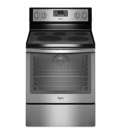 Whirlpool 6.4 Cu. Ft. Range with AquaLift Self-Cleaning Technology WFE540H0ES