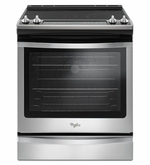 Whirlpool Slide-In Electric Range model #WEE745H0FS with True Convection 6.4 cu ft.