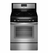 Whirlpool Stainless Steel Gas Range WFG515S0ES Freestanding Gas Range with AccuBake Temperature Management System 5.0 Cu. Ft.