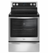 Whirlpool 6.4 Cu. Ft. True Convection Range, Frozen Bake Technology WFE745H0FS Stainless Steel