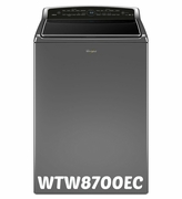 Whirlpool Top Load High Efficiency Washer with Laundry App 5.3 cu. ft. Smart Cabrio Model #WTW8700EC ENERGY STAR