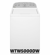 Whirlpool Top Washer WTW5000DW 4.3 cu. ft. Cabrio� High-Efficiency Top Load Washer by Whirlpool