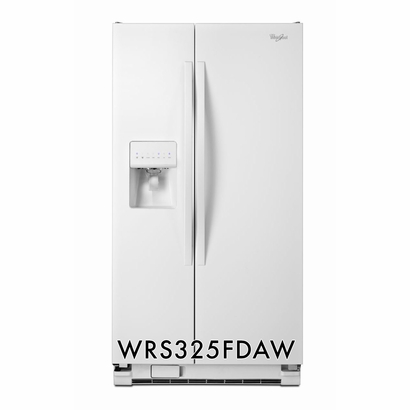 Whirlpool 25.4 cu. ft. LED Refrigerator with Accu-Chill� Temperature Management System WRS325FDAW