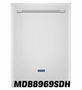 WHITE DISHWASHER MAYTAG OUR QUIETEST DISHWASHER MDB8969SDH EVER WITH LARGE CAPACITY