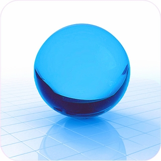 "Aqua CrystalBall (3"", 80mm ) $35.96"