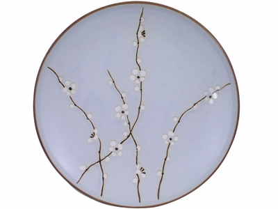 11-1/2 Inch Cherry Blossom Japanese Style Dinner Plate