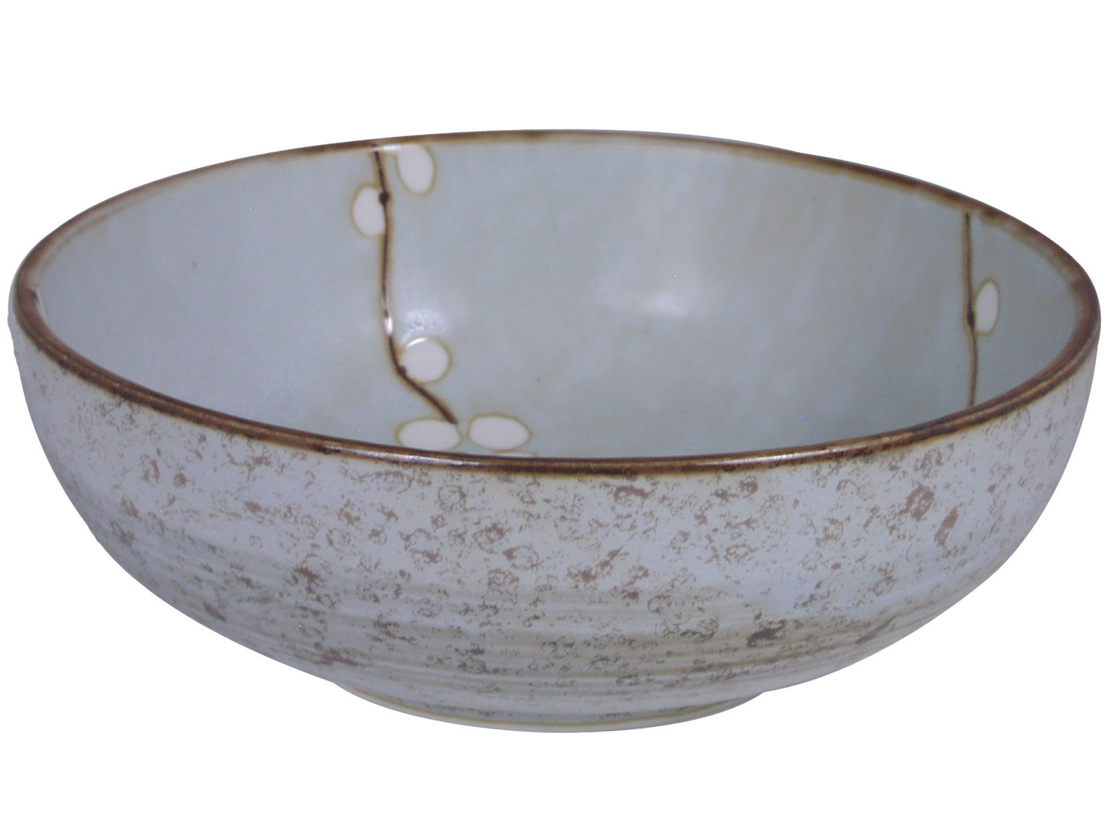 6 Inch Cherry Blossom Japanese Ceramic Bowl