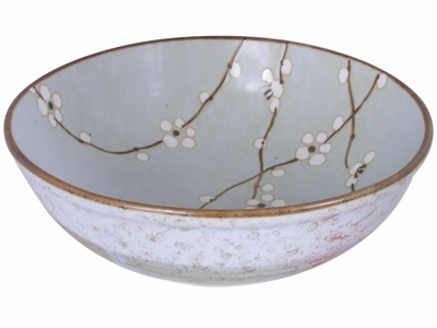 7-3/4 Inch Cherry Blossom Bowl Made in Japan
