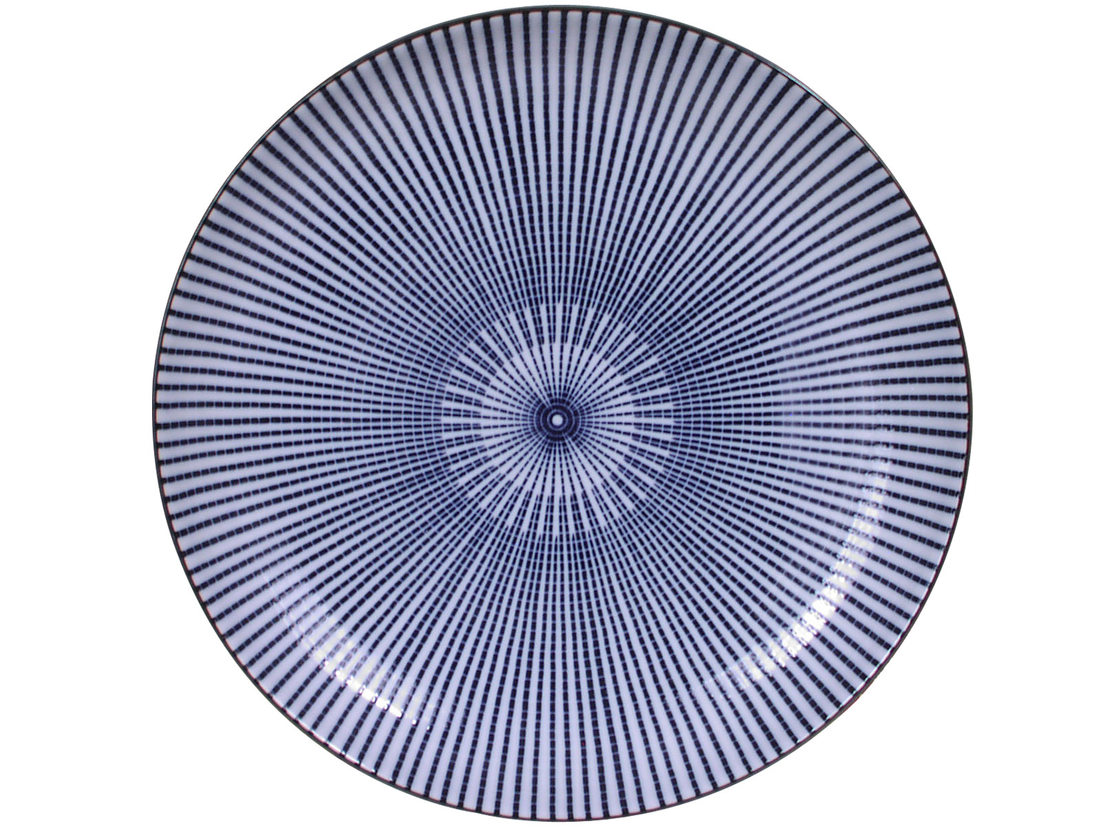 9 5 8 Inch Blue And White Japanese Parasol Illusion