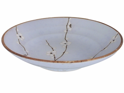 9 Inch Cherry Blossom Japanese Serving Bowl
