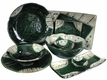 Abstract Sunlit Forest Oribe Ware