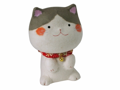 Adorable Lucky Japanese Fortune Cat Figurine