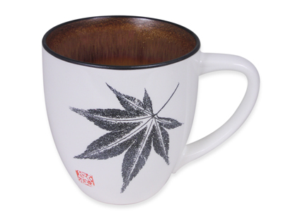 Amber Glow Japanese Maple Japanese Tea Mug