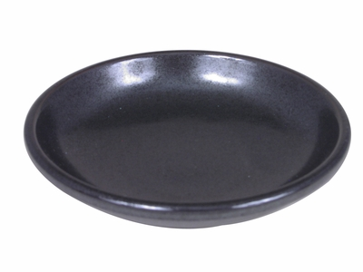 Black Alloy Collection Soy Sauce Dish