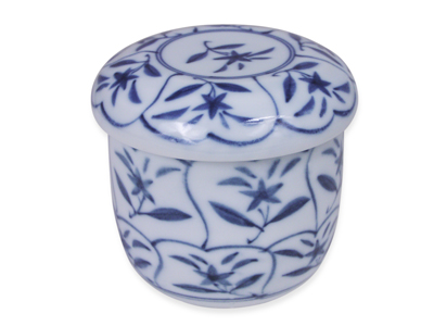 Blue and White Star Flower Chawan Mushi Cup