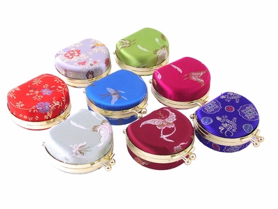 Chinese Brocade Jewelry Case (Price for one case only)