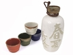Chinese & Japanese Calligraphy Sake Sets