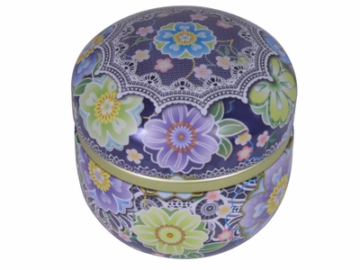 Cloisonne Cherry Blossom Canister