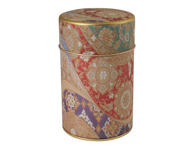 Colorful Oriental Tapestry Tea Coffee Canister