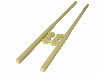 Double Happiness Ivory Shade Learning Chopsticks
