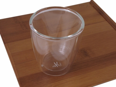 Double Wall Glass Sake Cup (LAST 4)
