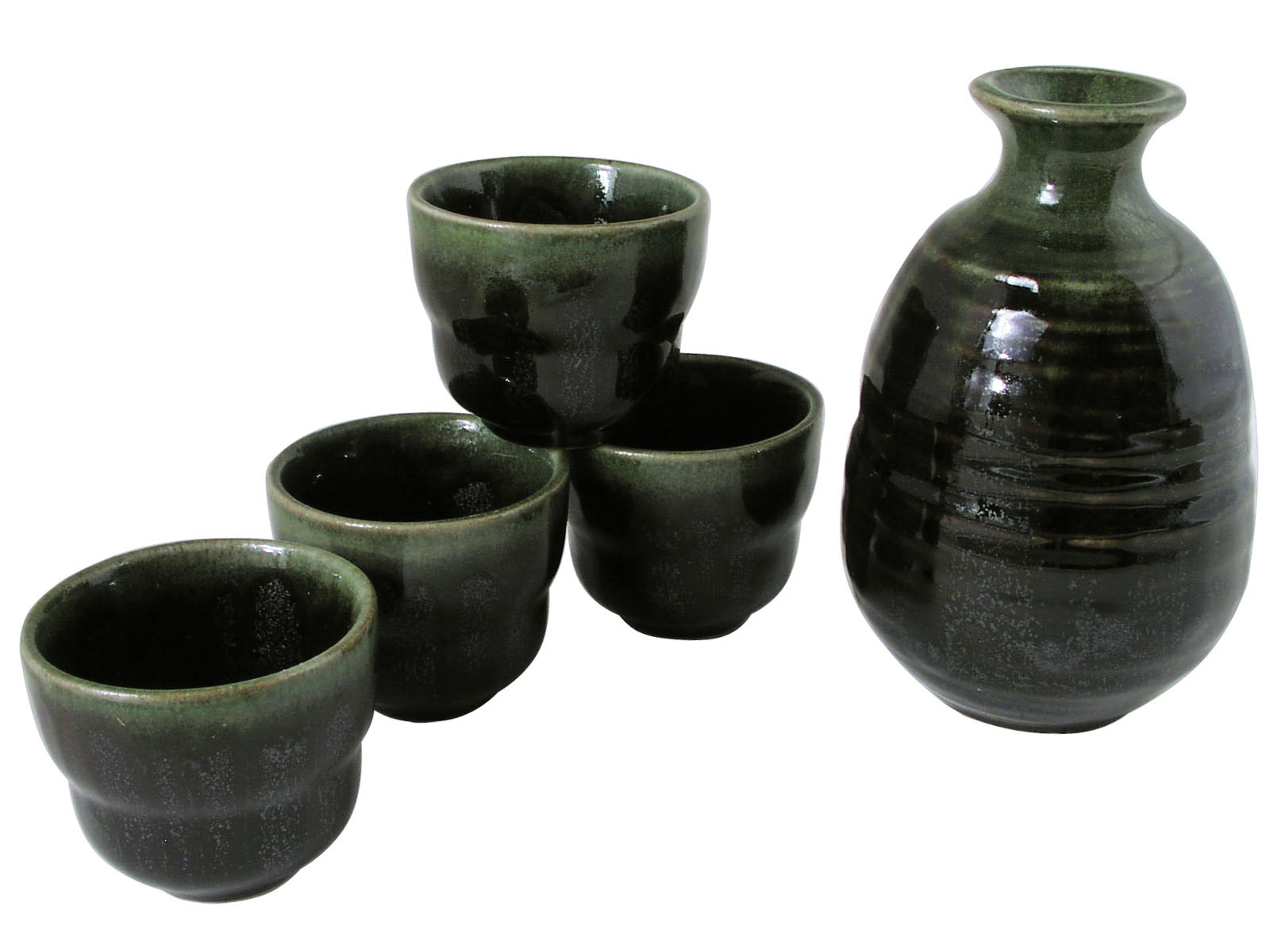 sc 1 st  Mrs. Linu0027s Kitchen & Evergreen Forest Traditional Japanese Sake Set for Four