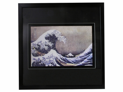 Framed Hokusai The Great Wave Off Kanagawa Print