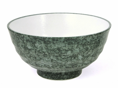 Green Marbleized Bowl