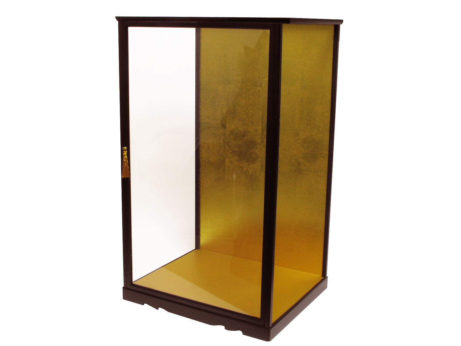Anese Large Wooden Gl Display Cases W 15 3 8 X D 13 H