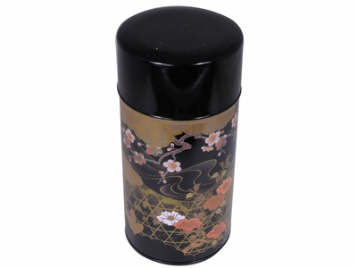Japanese Peony and Cherry Blossom Tea Tin