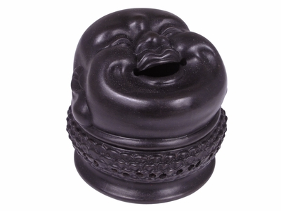 Laughing Buddha Head Incense Holder
