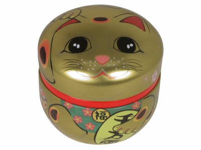 Maneki Neko Japanese Tea Canister