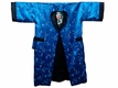 Men�s Blue and Black Chinese Robe Extra Large