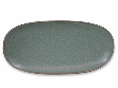 Moss Green Japanese Serving Plate