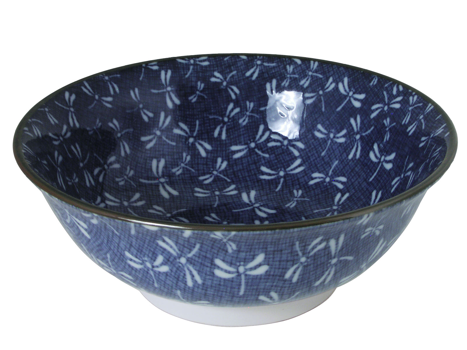 sc 1 st  Mrs. Linu0027s Kitchen & Navy Blue Spring Dance of the Dragonfly Bowl