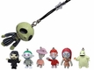 Nightmare Before Christmas Charm with Strap