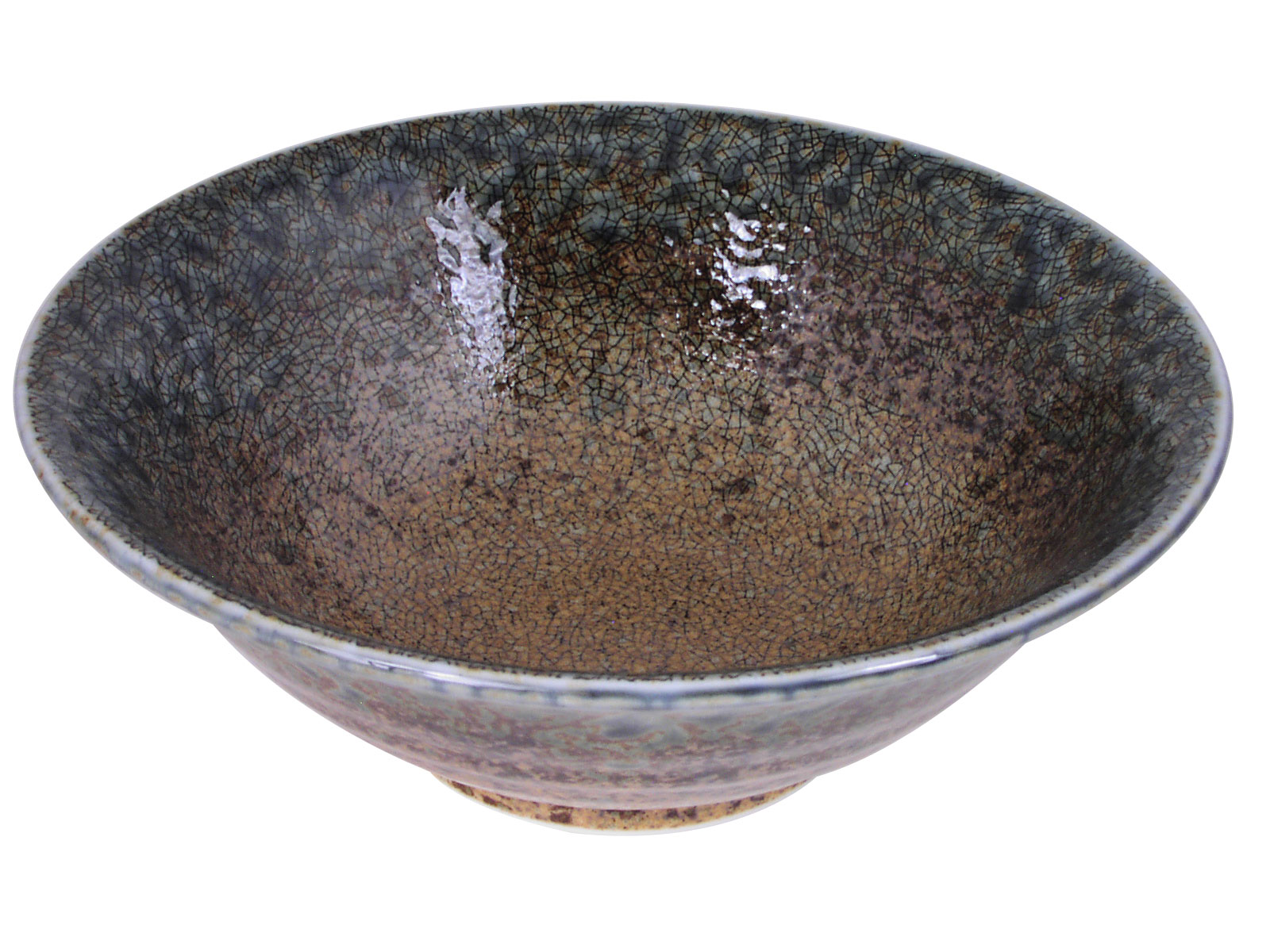 Pale Blue and Earthen Sand Crackle Japanese Shallow Dinnerware Serving Bowl  sc 1 st  Mrs. Lin\u0027s Kitchen & Pale Blue and Earthen Sand Crackle Japanese Shallow Dinnerware ...
